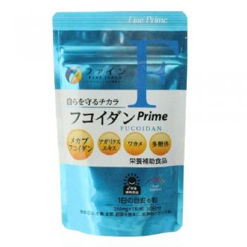 FINE Fucoidan Prime, Экстракт фукоидана и гриба агарика на 30 дней