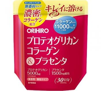 ORIHIRO Proteoglycan Collagen and Placenta, Протегликаном с коллагеном и плацентой на 30 дней