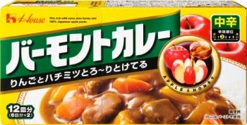 House Vermont Curry, Японское карри с яблоком и мёдом (средней остроты)
