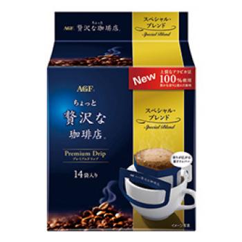 AGF Premium Drip Special Blend, Натуральный заварной кофе в пакетиках 14 шт