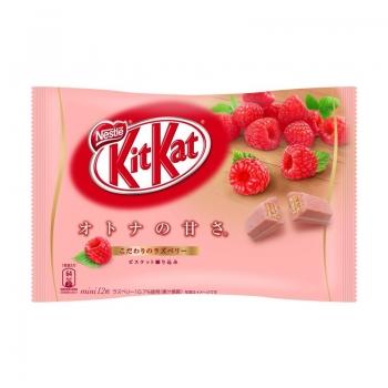 NESTLE Kit Kat Raspberry,Вафли с малиновой глазурью