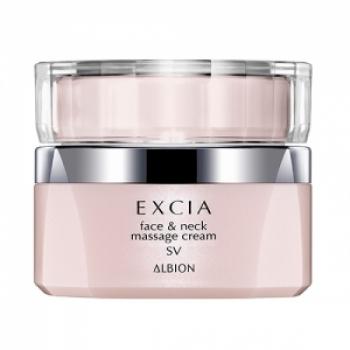 Albion Excia AL Renewing Face and Neck Massage Cream, Массажный крем 75 г