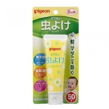 Pigeon Insect Repellent Gel, Детский гель для защиты от насекомых 50 г