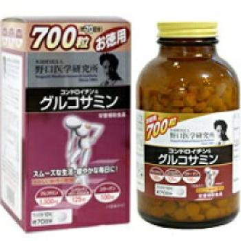 NOGUCHI Chondroitin & Glukosanine, Хондроитин с глюкозамином на 70 дней