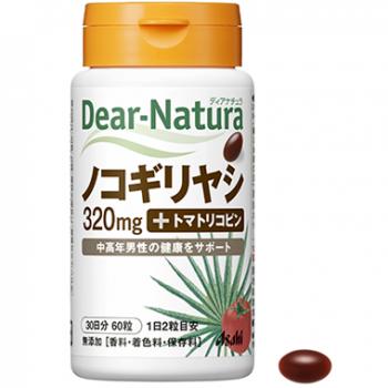 ASAHI Dear-Natura Saw Palmetto+Tomato Lycopene, Пальма Сереноя + Ликопин на 60 дней