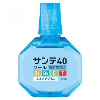 Sante 40 Cool, Капли для глаз с витамином E, B6, таурином и пантенолом с охлаждающим эффектом 12 мл