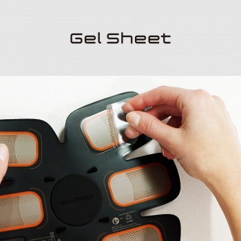 Сменные гелевые наклейки для MTG TRAINING GEAR SIXPAD ABS FIT 2