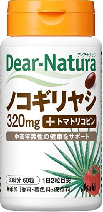 ASAHI Dear-Natura Saw Palmetto+Tomato Lycopene, Пальма Сереноя + Ликопин на 30 дней