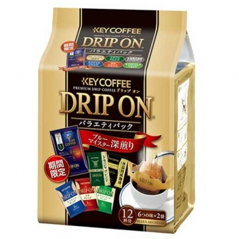 "Key Coffee ""Drip On"" Кофе молотый ассорти 12 пакетов"
