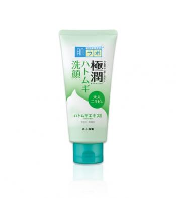 HADA LABO Gokujyun Сleansing Foam, Очищающая пенка для проблемной кожи 100гр