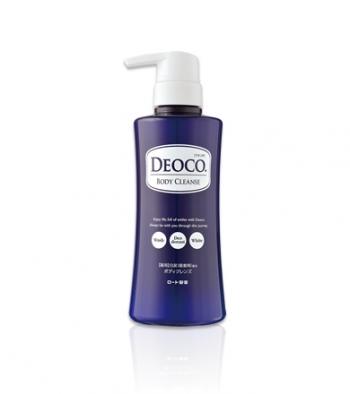 ROHTO Deoco Medicated Body Cleanse, Гель для душа против возрастного запаха пота 350 мл