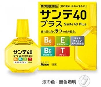 Sante 40 Plus, Капли для глаз с витамином E, B6, таурином и пантенолом 12 мл