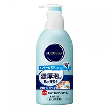 Success Medicated Shaving Foam 250ml с ментолом