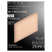 KATE Secret Skin Maker Zero (Pact) ,Компактная пудра,сменный блок+кейс SPF18/PA++