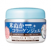 Komenuka Bijin Deep Moisture Jell Cream, Глубоко увлажняющий гель для лица с коллагеном 100 гр