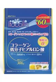 ITOH ITOCOLLA, Коллаген с гиалуроновой кислотой 306 гр (на 60 дней)