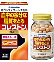 CHOLESTON, Холестон-препарат для снижения холестерина в крови, 168 капсул.