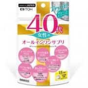 ITOH 40 years Womens All In One Suppli, Комплекс витаминов и минералов для женщин после 40 лет на 15 дней