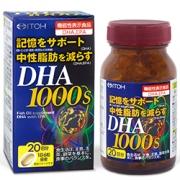 ITOH DHA 100, Омега 3 для здоровья организма на 20 дней
