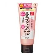 Sana Nameraka Soybean Isofrabon Haritsuya Cleansing Facewash, Увлажняющая очищающая пенка для лица с коэнзимом Q10, 150гр