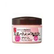 Sana Nameraka Soybean Isofrabon Haritsuya Cream Увлажняющий крем для лица с коэнзимом Q10, 50гр