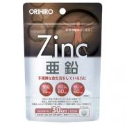 Orihiro Zink, Цинк и селен с хромом на 30 дней