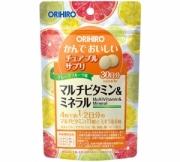 Orihiro MultiVitamin & Mineral, Мультивитамины и минералы на 30 дней