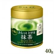 Tsujiri Matcha Soluble & Unsweetened, Растворимый чай матча 40 грамм