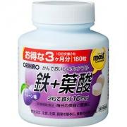 ORIHIRO Most Iron + Folic acid, Железо + Фолиевая кислота на 90 дней