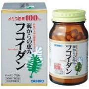 ORIHIRO Fucoidan, Фукоидан на 30 дней