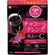 FINE Charcoal Cleans SMOO-C, Чёрный смузи с активированным углём и витамином С для похудения 200 г