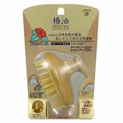 IKEMOTO Tsubaki Oil Head Spa Shampoo Brush Hair/Scalp Massage Health Care, Щетка массажная и очищающая с маслом камелии