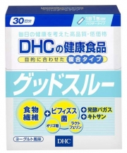 DHC Good sloo, Комплекс для здоровья кишечника на 30 дней