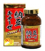 ITOH NATTO KINASE 2000FU, Наттокиназа 2000FU (на 60 дней)