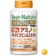 ASAHI Dear-Natura Strong39 Amino Multi Vitamin Mineral,  Аминокислоты, витамины и минералы 300 табл