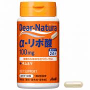 ASAHI Dear-Natura α-lipoic acid, α-липоевая кислота на 30 дней