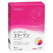 FANCL Deep Charge Collagen Stick Jelly, Низкомолекулярный коллаген в желе на 10 саше