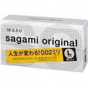 Sagami Original 0.02, размер L, 10шт