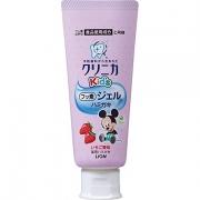 LION Clinica KID`S Gel Гелевая зубная паста для детей со вкусом клубники, 60гр