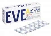 EVE A, Обезболивающее на основе ибупрофена 60 таблеток