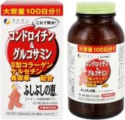 FINE Glucosamin&Chondroitin, Хондроитин и Глюкозамин на 100 дней