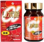 FINE α-lipoic acid, Альфа-липоевая кислота с витаминами на 39 дней