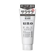 Shiseido UNO Whip Wash Black Пенка для умывания лица с древесным углем, 130гр