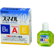 LION SMILE 40 EX, Глазные капли 3 витамина, освежающие 15 мл