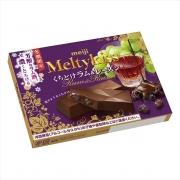 Meiji Meltykiss Rum Raisin, Шоколад с ромом и изюмом