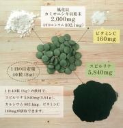 Algae Spirulina + Shellfish Calcium, Спирулина + Кальций на 30 дней