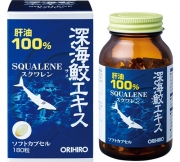 ORIHIRO Squalene, Сквален 180 капсул