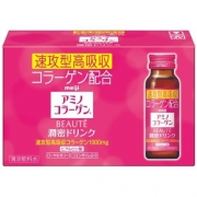 MEIJI Amino Collagen Beaute Drink, Амино Коллаген Бьюти питьевой на 10 дней