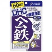 DHC Heme Iron, Железо с фолиевой кислотой и витамином В12 на 60 дней