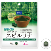 DHC Power Food Spirulina, Спирулина на 30 дней